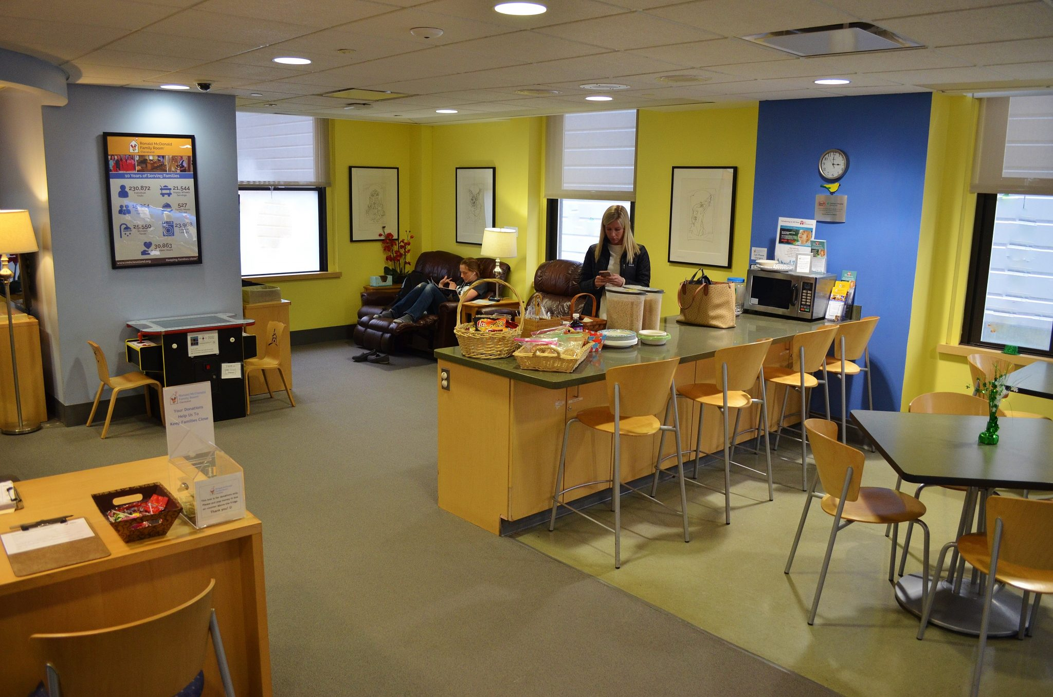 Family Room at Cleveland Clinic Children's