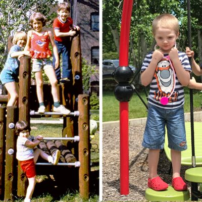 Playgrounds, old and new